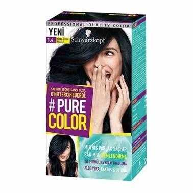 Pure 1-4 Siyah Üzüm Reçeli - Saç Boyası Siyah